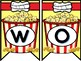 Popcorn Themed Interactive Word Wall with Editable File