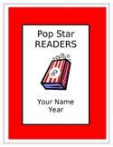 Popcorn Themed Reading Incentive Program Templates