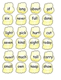 Popcorn Third Grade Sight Word Game