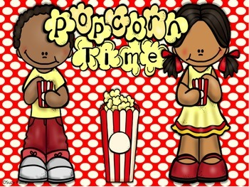 Popcorn Time {2nd gr CCSS}: Telling Time Activities