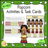 Popcorn Worksheets Activities Games Printables and More