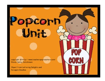 Popcorn Unit for Early Elementary