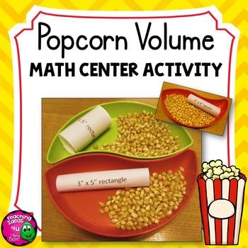 Popcorn Volume: Exploring Volume & Dimension Thanksgiving Math