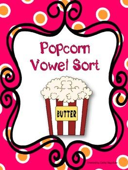 Popcorn Vowel Word Sort
