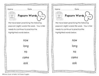Sight Word Assessment Kit