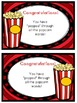 Popcorn Word Awards/Certificate