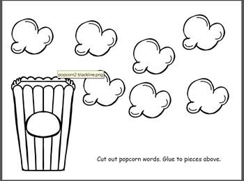 Popcorn Word BUNDLE! - preprimer, primer, 1st grade dolch