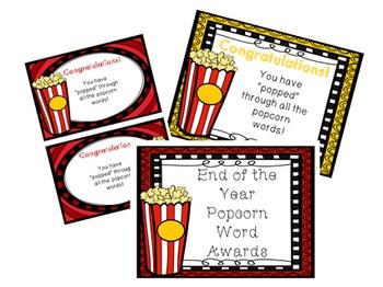 Popcorn Word Bundle