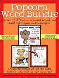 Popcorn Word Bundle:  A Yearlong Unit to Teach Sight Words