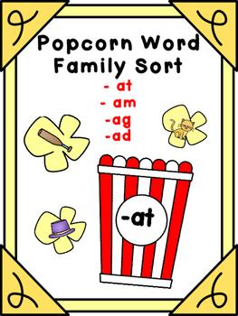 Popcorn Word Families