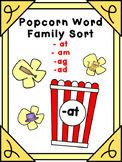 Popcorn Word Families