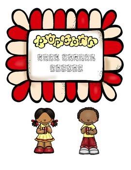 Popcorn Word Family Center
