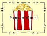Popcorn Word POP! Game - EDITABLE