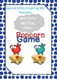 Kindergarten Dolch Basic Words Popcorn Game
