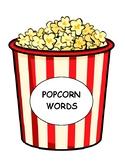 Popcorn Word Wall