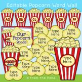 Popcorn Words {Classroom Display}