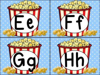 Popcorn  Themes Interactive Word Wall - Fry Edition