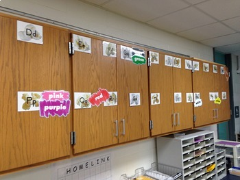 Popcorn Word Wall Letters