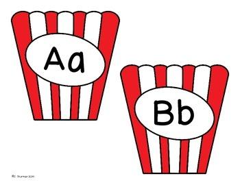Popcorn Word Wall Set