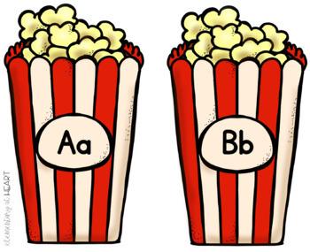 Popcorn Word Wall Set- 100 Words
