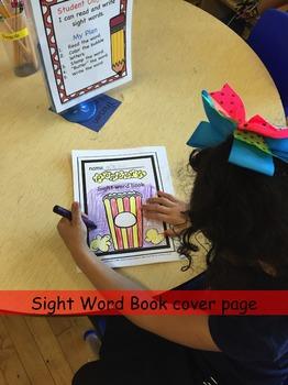 Literacy Center Word Work Activity for Kindergarten and First grade {Popcorn}