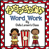 Literacy Center Word Work Activity for Kindergarten and Fi