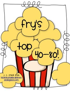 Popcorn Words 41-80