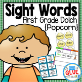 Sight Word Activities, Centers, and Word Wall: Dolch First Grade {Popcorn}