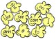 Popcorn Words - Early Literacy word exposure (Learning wall display)