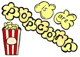 Popcorn Words - Early Literacy word exposure (Learning wal