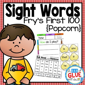 Sight Word Activities, Centers, and Word Wall: Fry First 1