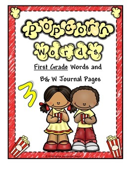 Popcorn Words (First Words) (Dolch) Set 3