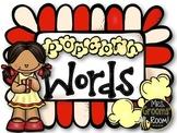 Popcorn Words:  Fry List: List One