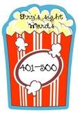 Popcorn Words! Fry's Fifth Hundred Sight  Words (Grades 4-5)