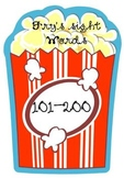 Popcorn Words! Fry's Second Hundred Sight Words (Grades 1-2)