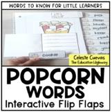 Popcorn Words Interactive Flip Flaps
