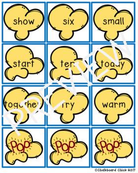 Popcorn Words: K-3 Sight Words Partner Games
