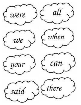 Popcorn Words - List 2 Set
