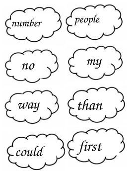Popcorn Words - List 4 Set