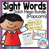 Sight Word Activities, Centers, and Word Wall: Dolch Mega
