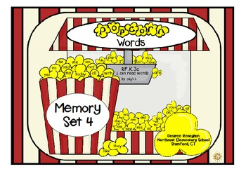 Popcorn Words: Memory Bundle