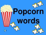 Popcorn Words PowerPoint