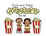 "Read and Stamp ""Popcorn"" Words"