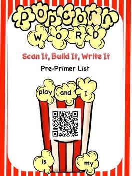 Popcorn Words Scan It, Build It, Write It