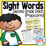 Sight Words Activities, Centers, and Word Wall: Second Grade Dolch {Popcorn}