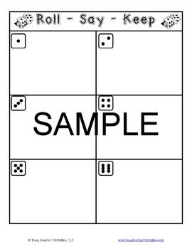 Popcorn Words (Sight Word) Centers Set 1 - Programmable! Printable!