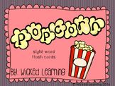 Popcorn Words: Sight Word Flash Cards
