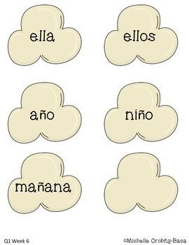 Popcorn Words: Spanish Sight Words