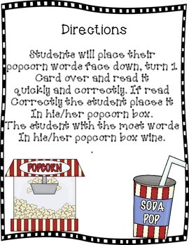 Popcorn Words: Spanish Sight Words