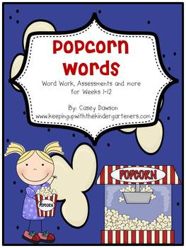 Popcorn Words Unit 1 (K-1)